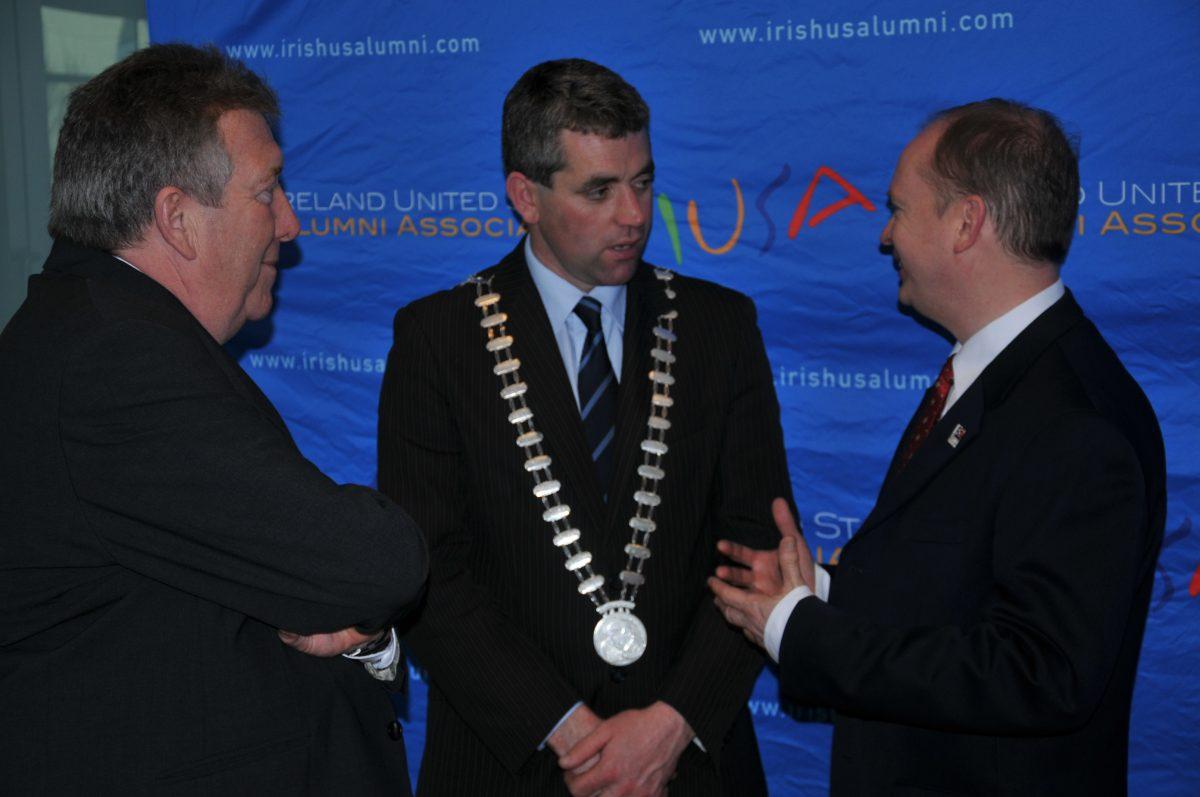 Brendan Keane, Mayor Lombard, Stephen Anderson