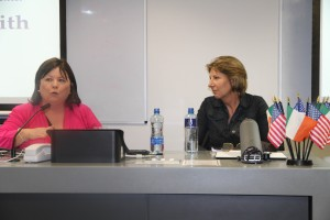 Mary Harney in conversation with Áine Lawlor
